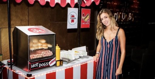 Carrito hot dogs para eventos en Barcelona