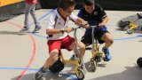 Circuit inflable de mini-bicis!