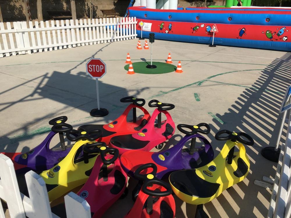 Circuito Vehiculos : Circuito de vehículos infantiles actividades