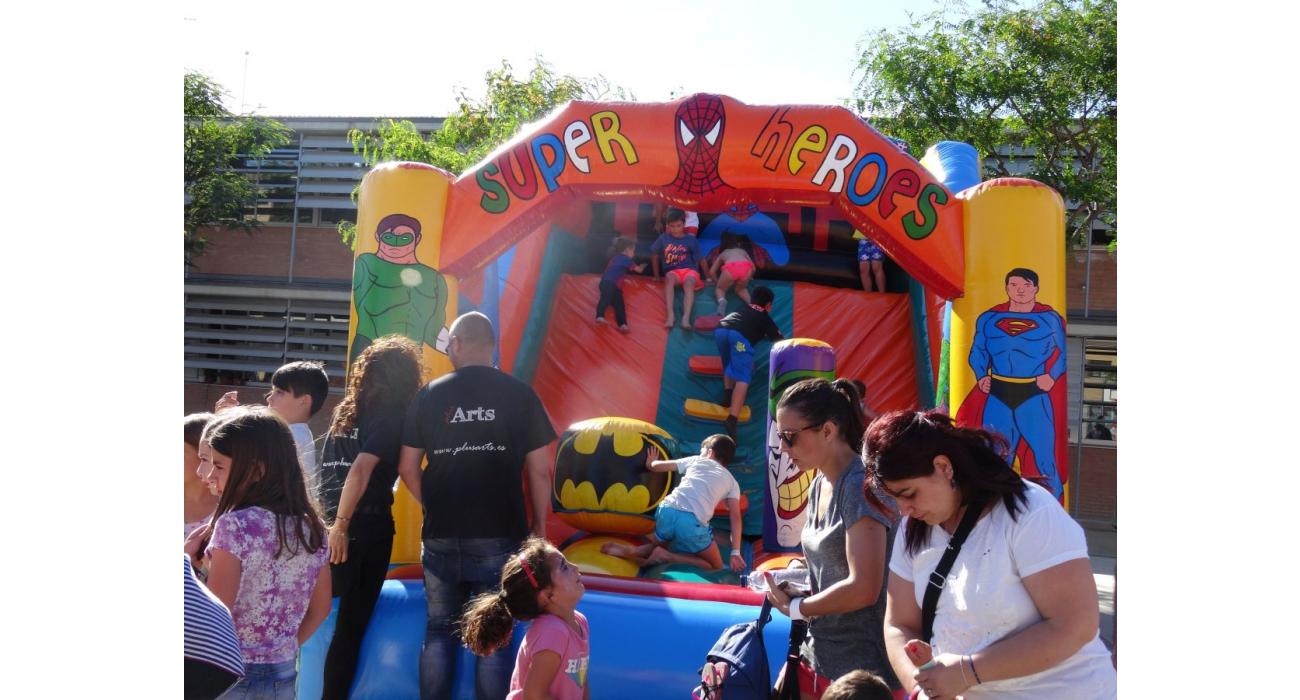 Hinchables fiesta final de curso