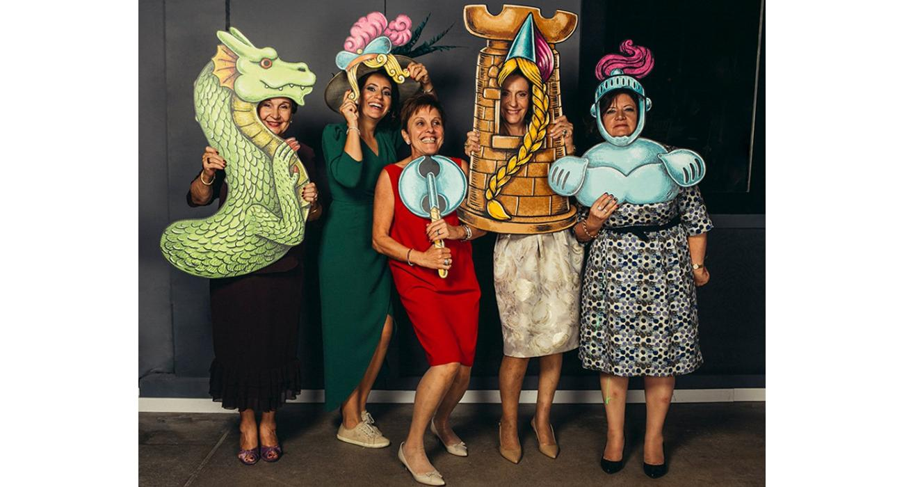 Photocall de carnestoltes