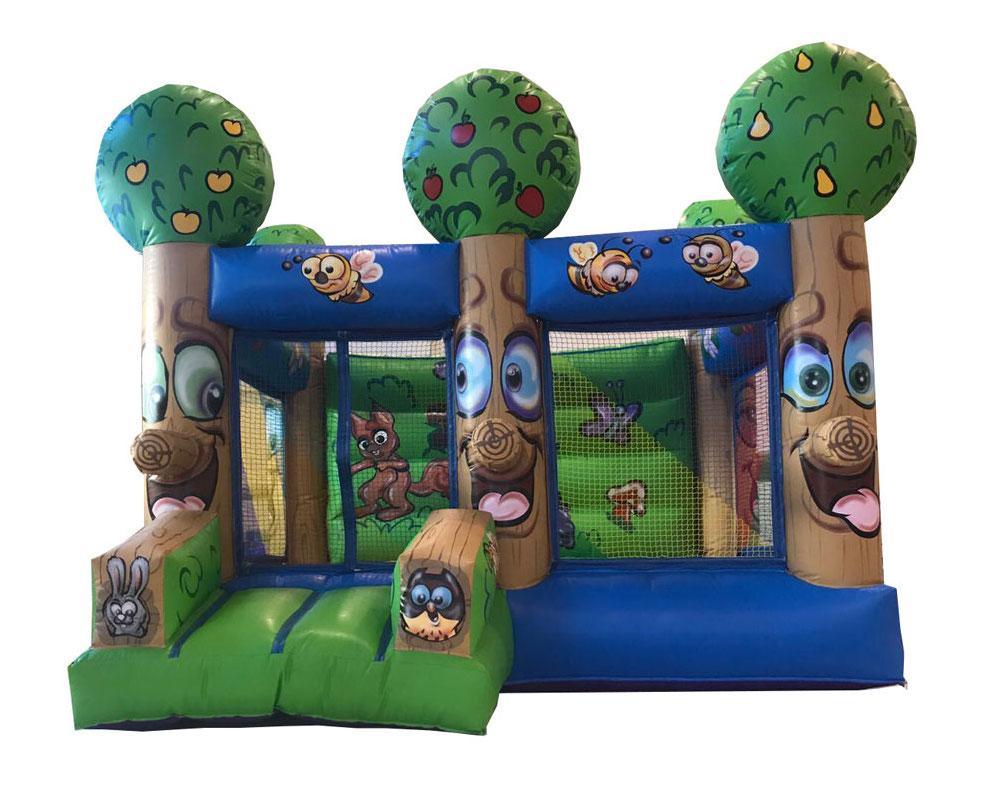 Hinchable casita de bolas alquiler de hinchables for Alquiler parque de bolas