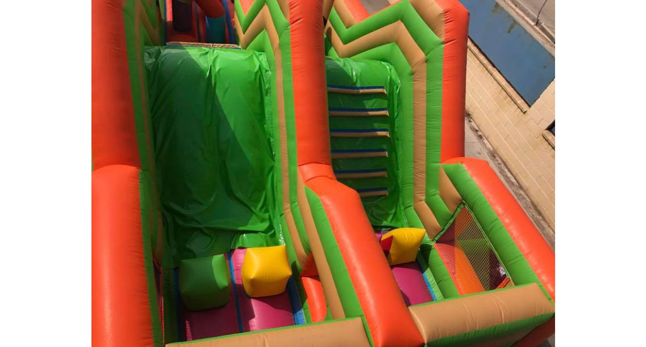 Inflable pista americana