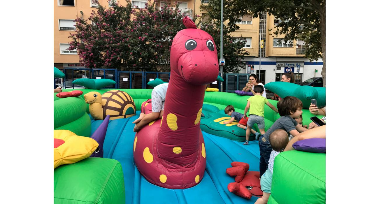 Inflable Baby Dino