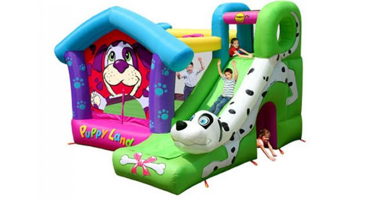 Inflable Puppy Land