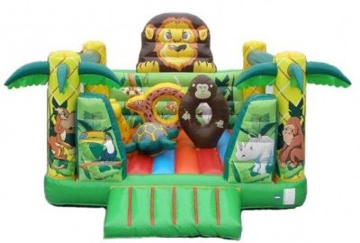 Inflable selva