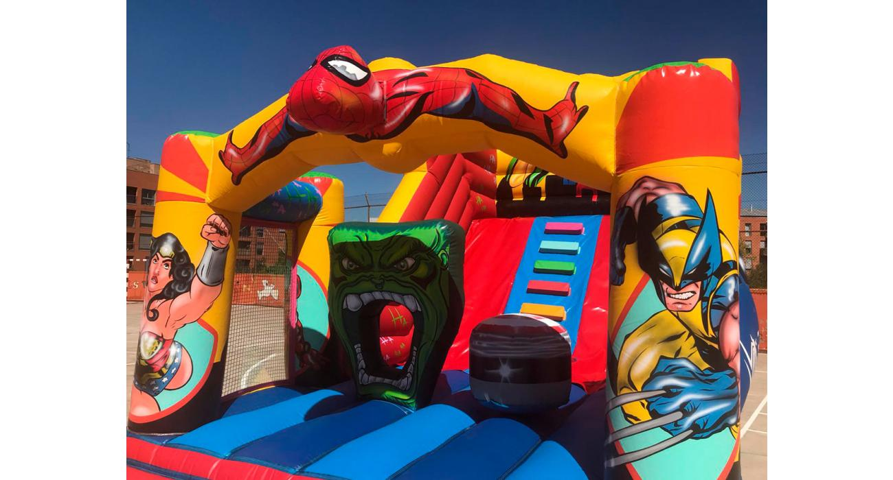 Inflable super herois