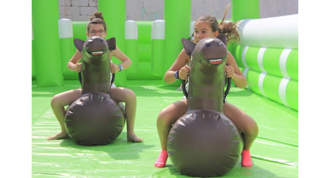 Inflable hipòdrom